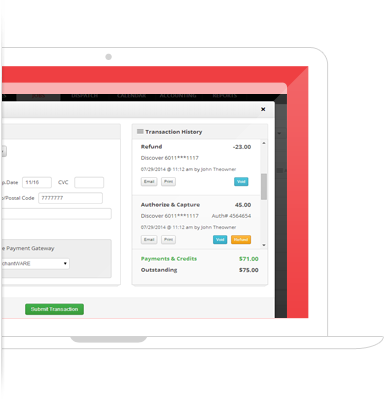 Process Credit Card Payments Securely From The Same Interface