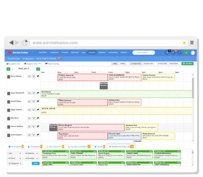 Field Service Management Software - Scheduling, Dispatching, Invoicing,  Payments, Mobile Apps | Service Fusion