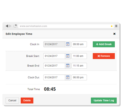 Time Tracking & Payroll Reports