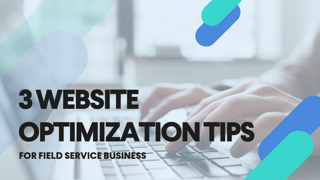 website optimization for field service businesses