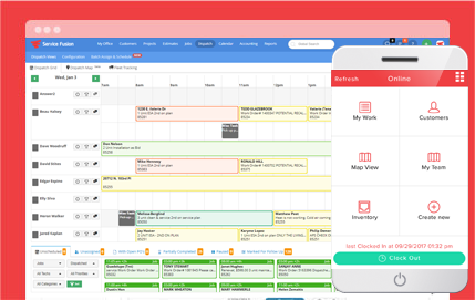 Field Service Management Software - Dispatch, Scheduling, Invoicing, and  Work Order Management | Service Fusion